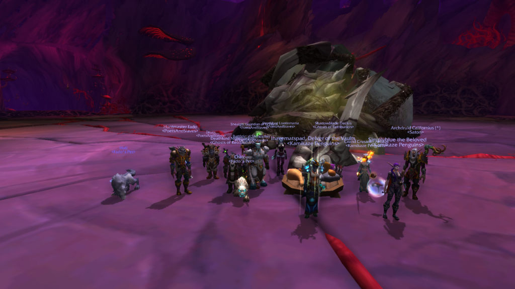 Team first kill of Nythendra